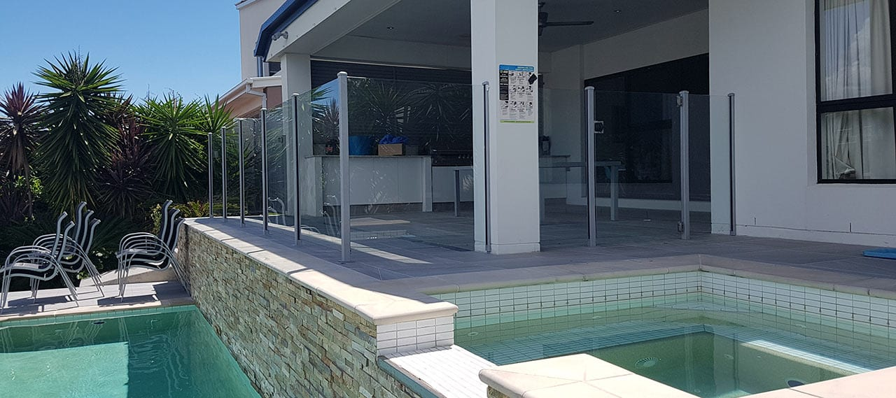 Semi Frameless Glass Pool Fencing Absolute Fencing Gold Coast